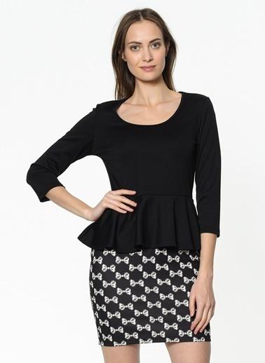 Asymmetry Elbise Renksiz